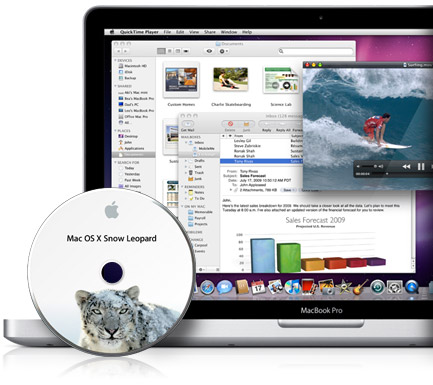 mac os x snow leopard pc