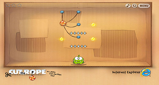 """Cut the Rope"" per Pc"